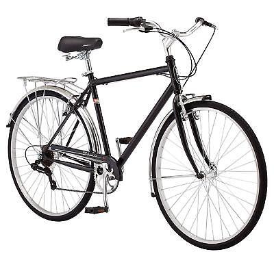 31d61e0c069 Schwinn Men's Wayfarer Hybrid Bike, Black
