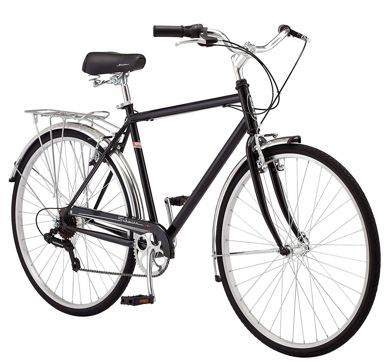 d382560783e Schwinn Men's Wayfarer Hybrid Bike, Black
