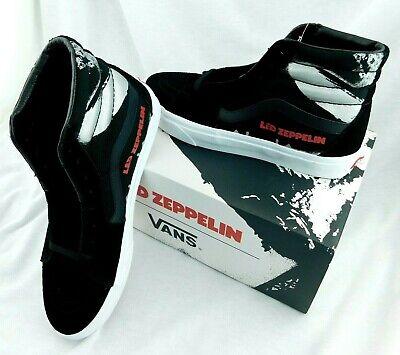 Led Zeppelin X Vans LZ1 Sk8 Hi Shoe Sneaker 50th Anniv Limited Edition Men 10