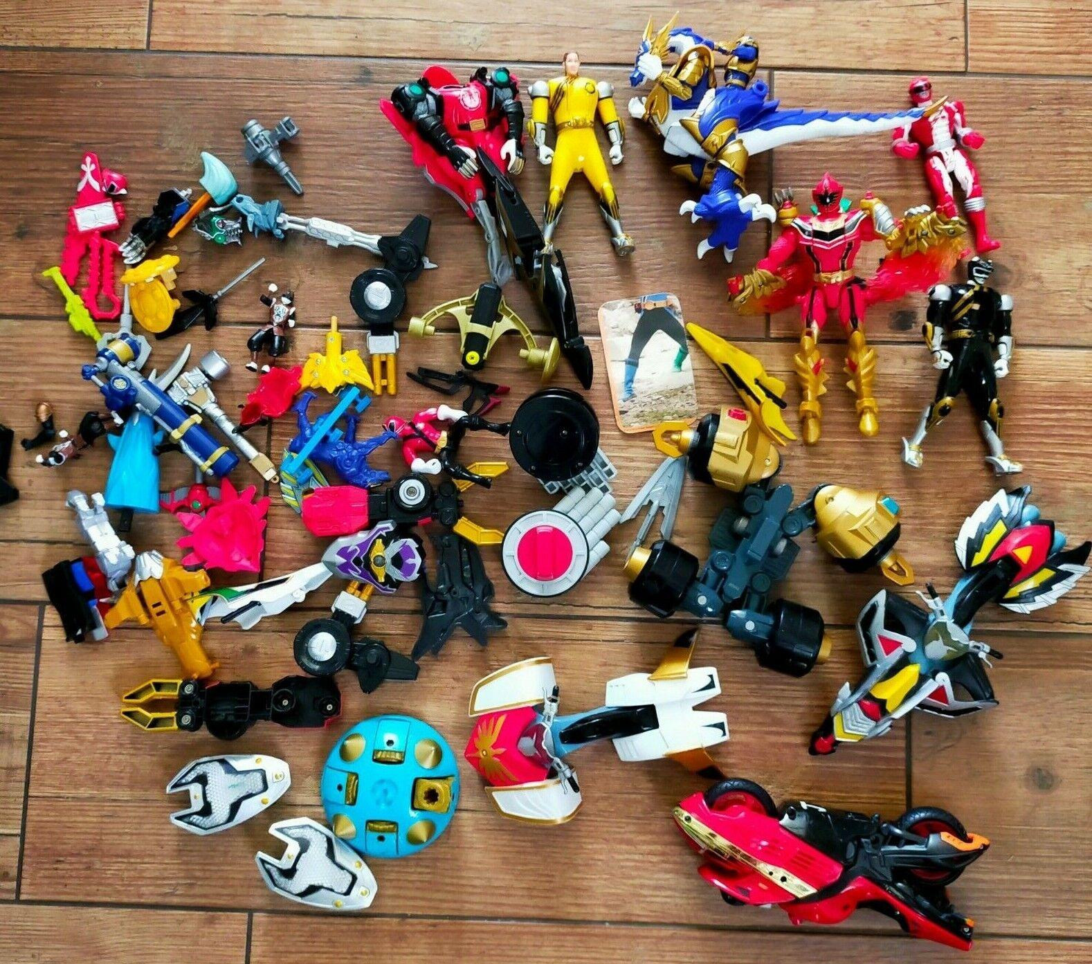 2.2KG Power Rangers Figures Parts Bundle