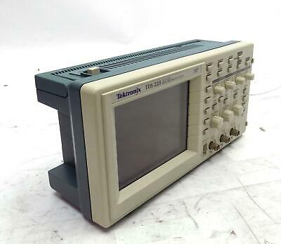 Tektronix Two Channel Digital Real Time Oscilloscope 100mhz 1gss Tds 220