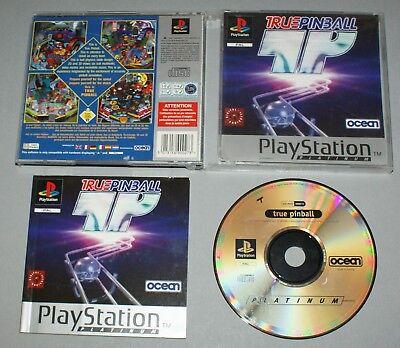 True Pinball - Sony Playstation One Game PS1 - PAL complete