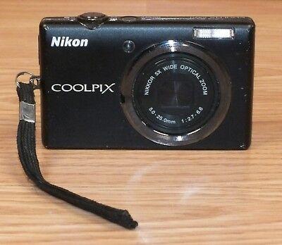 Genuine Nikon Coolpix S570 5x Wide Optical Zoom Digital Camera **READ**