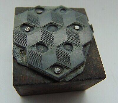 Printing Letterpress Printers Block 3d Design