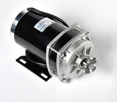 1000w 48 V Dc Electric Motor F Quad Trike Go-kart Diy Zy1020zxf Gear Reduction