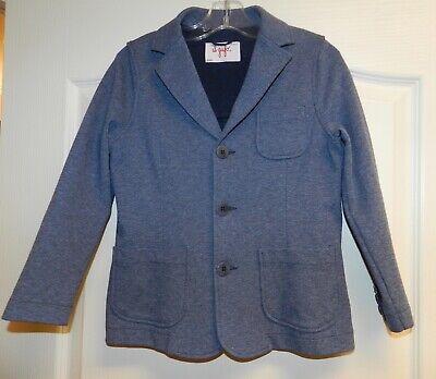 Il Gufo Boys Button Up Collared Blazer Jacket Cotton Size 8
