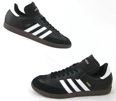 47f84c876 Adidas Samba Classic Indoor Soccer Shoes Black / White US 11.5