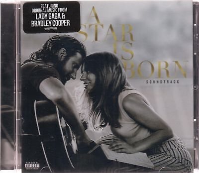 SEALED - A Star is Born NEW CD Soundtrack Explicit Lady Gaga/Bradley Cooper !