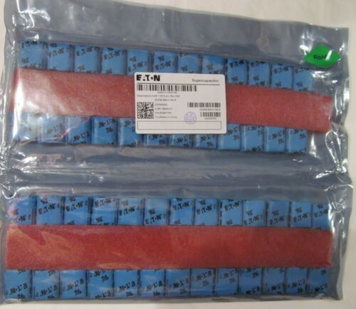 50-PACK NEW EATON PM-5R0V155-R CAPCITORS 1.5F 5V SUPERCAPACITOR POWERSTOR