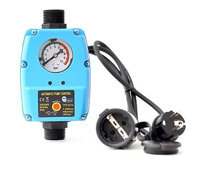 Pumpensteuerung Druckwächter für Gartenpumpe Hauswasserwerk Trockenlaufschutz