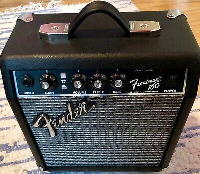 Fender Frontman 10G 10W Guitar Combo Amp  (Black)