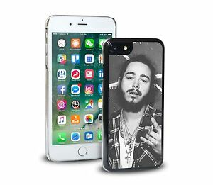 Post-Malone-BW-Phone-Case-Cover-For-iPhone-amp-SAMSUNG