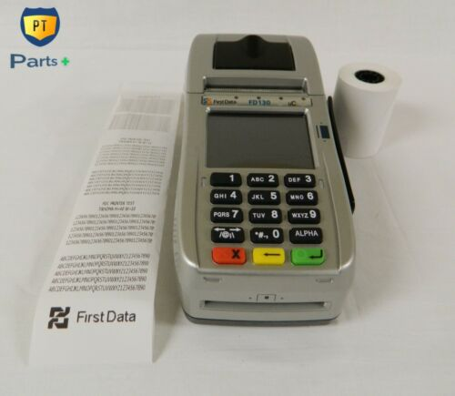 First Data FD-130 uC Model, POS Credit Card Reader 001805064 PT-48