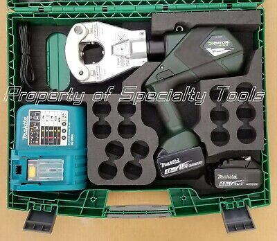 Greenlee Gator Ek06ftlx Battery Hydraulic Dieless Ek06ft Crimper Crimping Tool