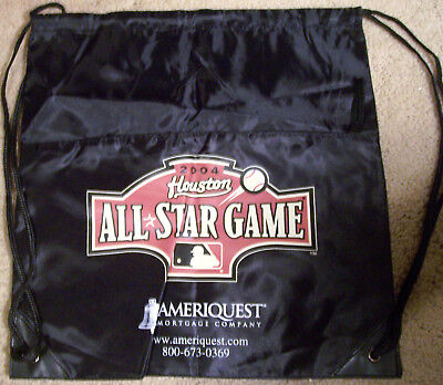 - 'New' 2004 Houston Astros All Star Game Drawstring Backpack (Minute Maid Park)