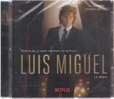 Sealed   Luis Miguel Cd Musica De La Serie De Netflix   Nuevo     Brand New