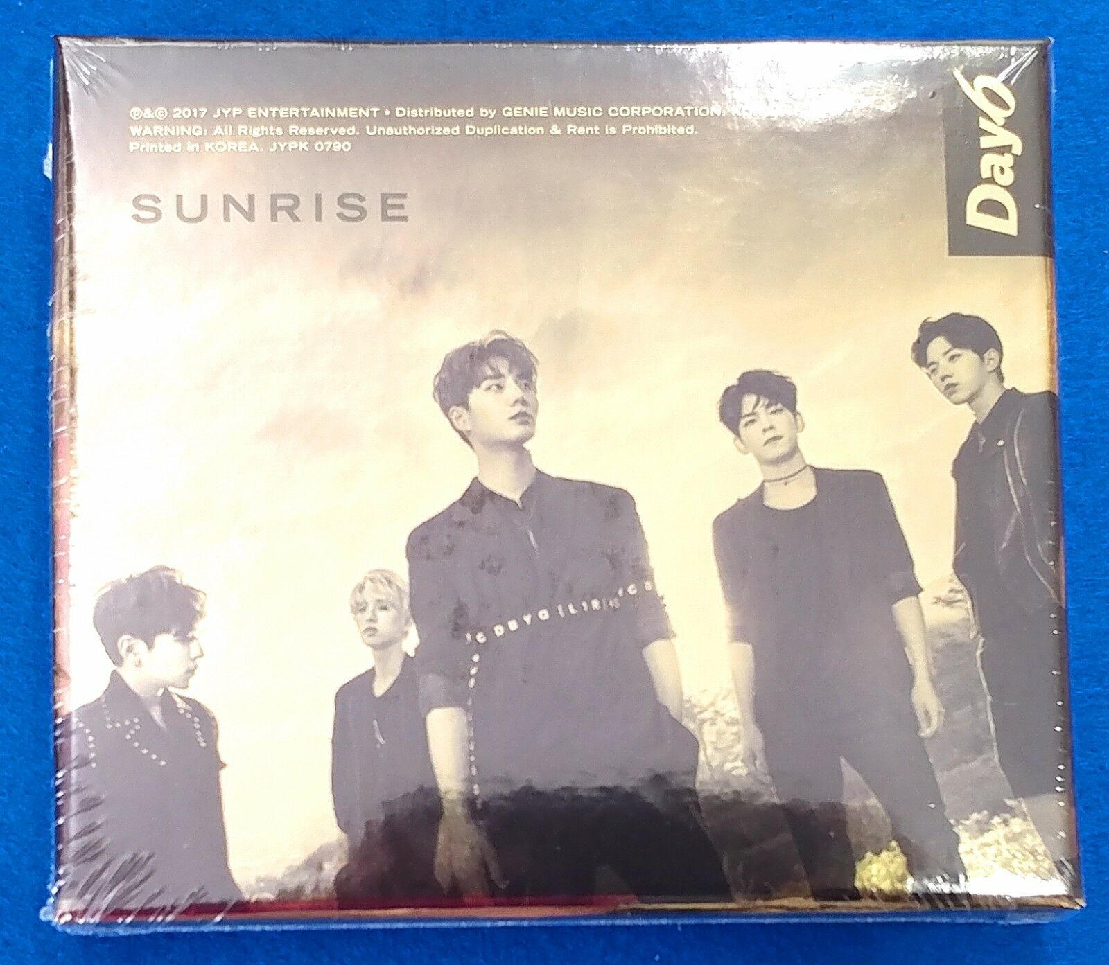 Day6 - Sunrise 1st Album Photocard Photobook Sealed NEW K-POP