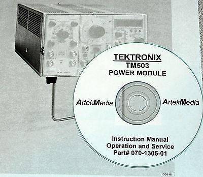 Tektronix Tm503 Power Module Instruction Manual Opsservice