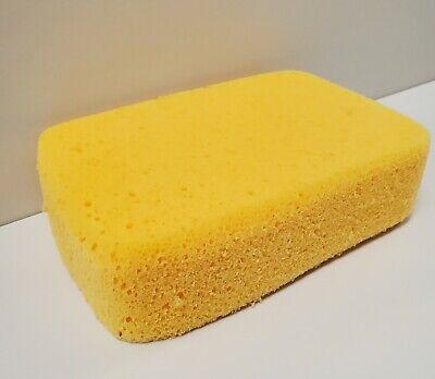 Large Yellow Hydrophilic Grout Sponge 7 X 4 12 X 2 Quantity 24