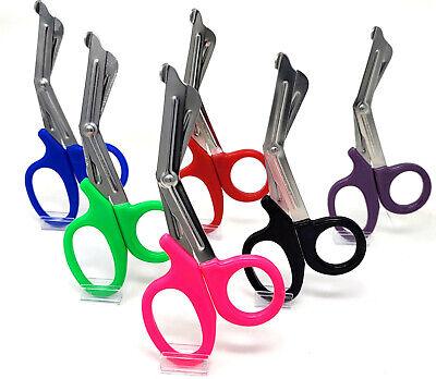 6 Pcs Nurse Medical Scissors Emt 7.5 Utility Bandage Shears Paramedic Emergency