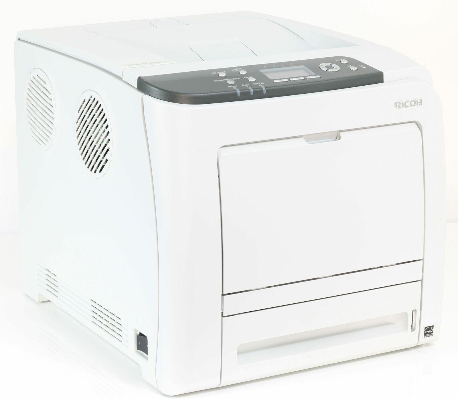 Ricoh aficio sp c320dn imprimante couleur laser sous 75.000 pages imprimées