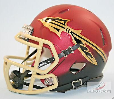 Florida State Seminoles  Garnet Black  Riddell Speed Mini Helmet