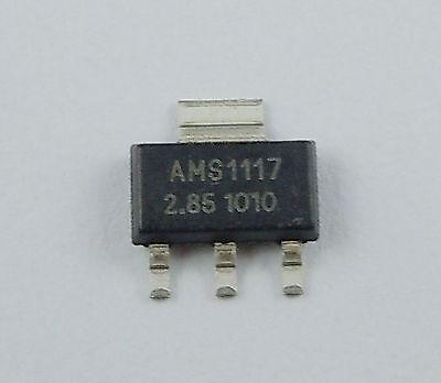 10pcs New Ams1117 2.85v 1a Voltage Regulator Sot-223