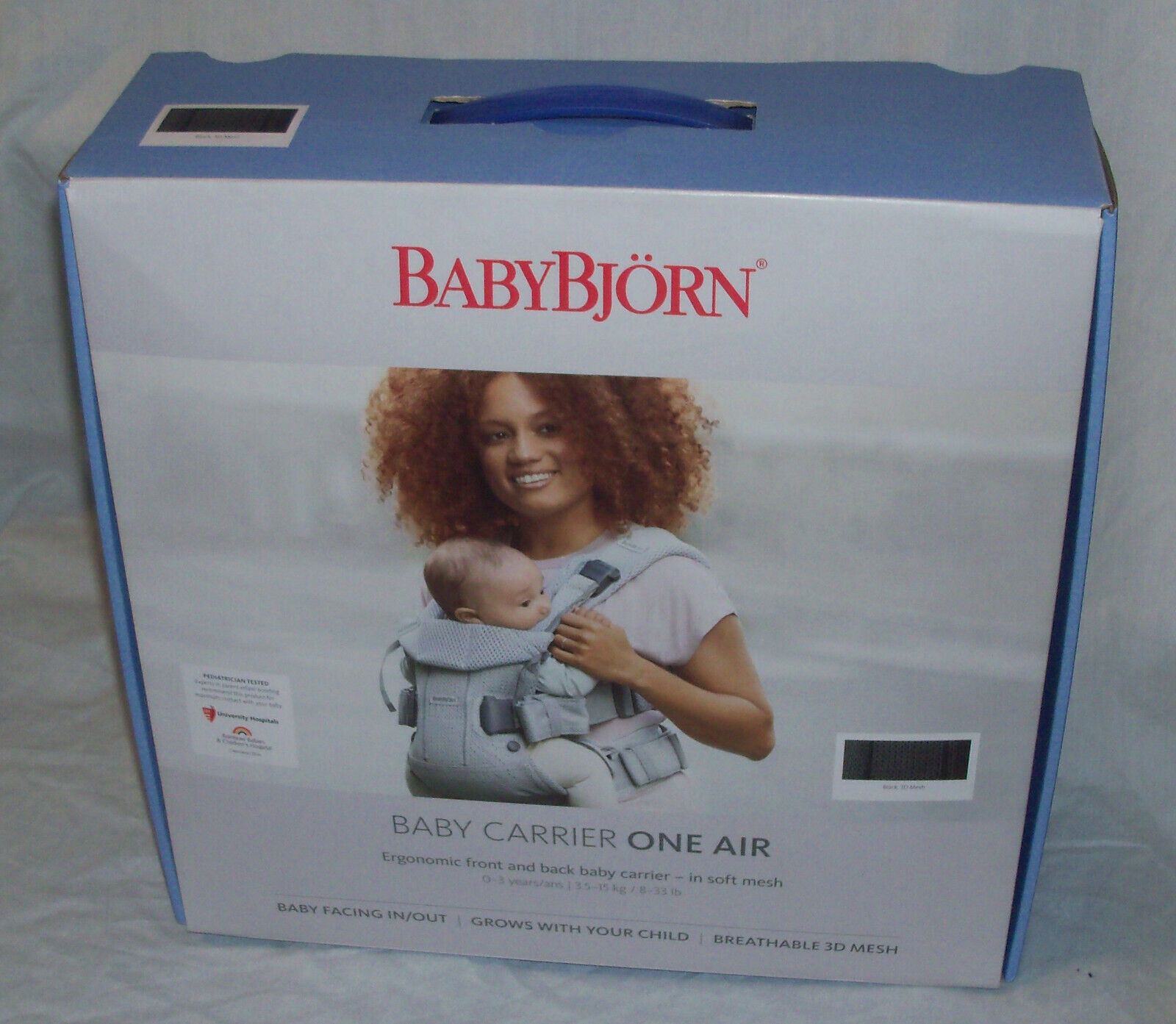 BABYBJORN Baby Carrier One Air Breathable 3D Mesh Grow With