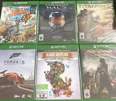 NEW Xbox One Games *Choose Your Own* (Factory Sealed) North America - Microsoft
