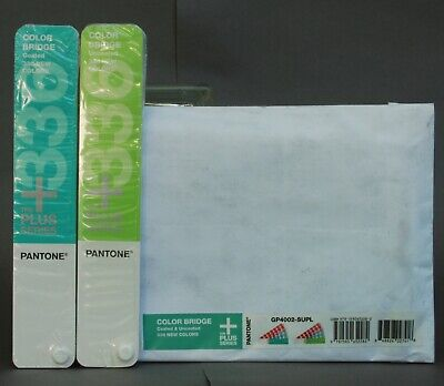 Pantone Plus Series Color Bridge 336 New Colors Coated And Uncoated Gp4002-supl