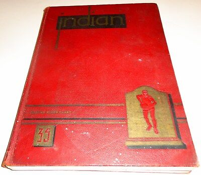 1935 Anderson High School Yearbook  Indian  Anderson  Indiana