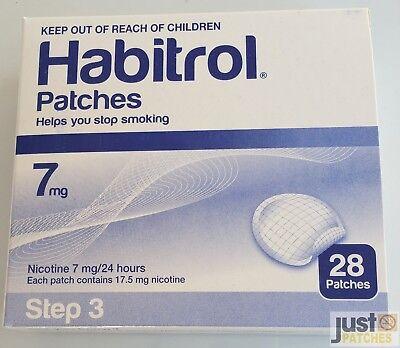 Step 3 Habitrol Transdermal Nicotine Patch 7 Mg 1 Box 28 Patches Fresh 02 2020