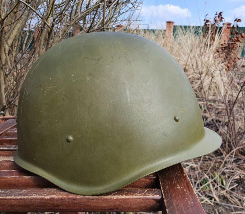 Original Military Helmet SSH40 Steel WW2 Soviet Army RKKA WWII Size 3 Big Size