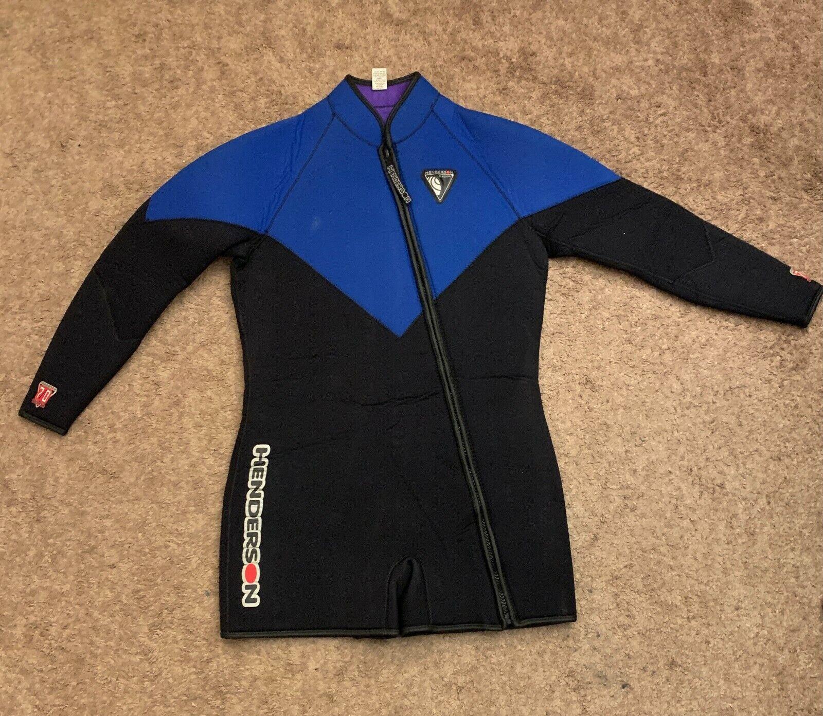 Henderson 2 Piece 7mm Wetsuit Size XL with Size L U.S. Diver