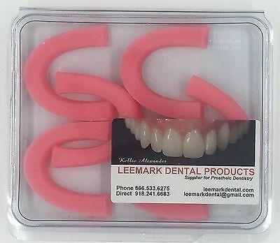 Dental Laboratory Bite Block Wax Rims 6 Ct Lot Dentist Rogson Preformed New