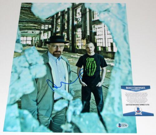 AARON PAUL SIGNED 'BREAKING BAD' JESSE PINKMAN 11x14 SHOW PHOTO BECKETT COA BAS
