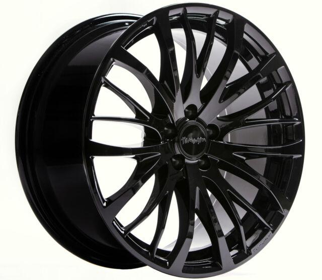19 Zoll Tomason TN7 Black Painted 8.5x19 LK 5x108 et40 für Ford