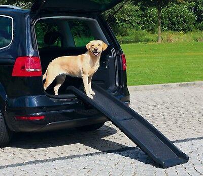 Trixie Petwalk Einstiegshilfe Autorampe für Hunde Klapprampe 40 x 156 x 8 cm