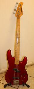 Vintage Kramer Striker 700ST Electric 4 string Bass Guitar Made in USA