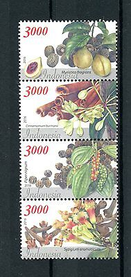 Indonesia 2016 MNH Indonesian Spices 4v Strip Nutmeg Cinnamon Pepper Stamps