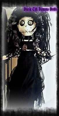 Bellatrix La Strange doll, witch doll, OOAK  doll gothic rag doll ,custom made - Gothic Rag Dolls