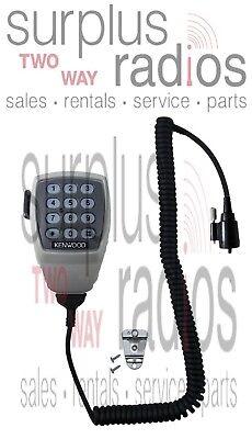 Kenwood Kmc28 Mil-spec Noise Canceling Dynamic Round Plug Mobile Mic Tk890 Tk790
