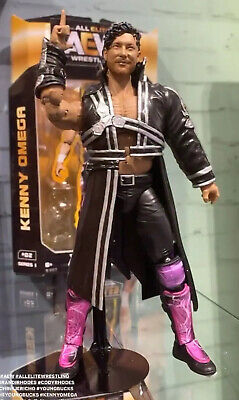 AEW Kenny Omega Action Figure - Unrivaled Series 1 - AEW WWE Preorder For July