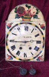 Nice Antique Black Forest Wall Clock