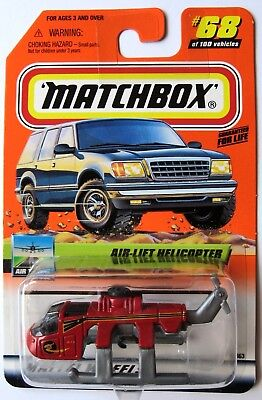 MatchBox Airlift Sky Crane Heavy Lift Helicopter Chopper Collectable 1999 - Sky Crane
