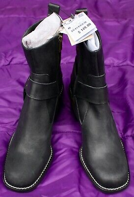 Zara Trafaluc Leather Ankle Boots Womens Size 40 or Size 9 USA Zipper.  TAG 446i](Zara Boots Womens)