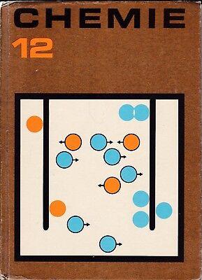 Chemie 12. Klasse/Volk und Wissen/DDR Lehrbuch 1977 Abi Abitur-Stufe