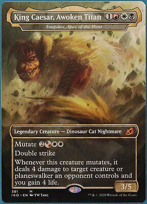 King Caesar, Awoken Titan Snapdax, Apex of the Hunt (Godzilla) Ikoria NM 164764
