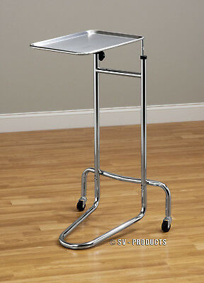 Mayo Table (Mayo Doctor Medical Instrument Stand Tray Table)