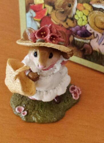 Wee Forest Folk M-348 TO MARKET     RETIRED Mint